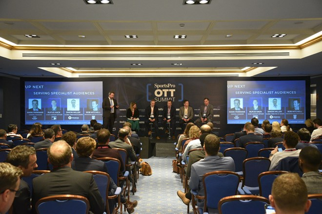 SportsPro OTT Summit 2019 Serving specialist audiences
